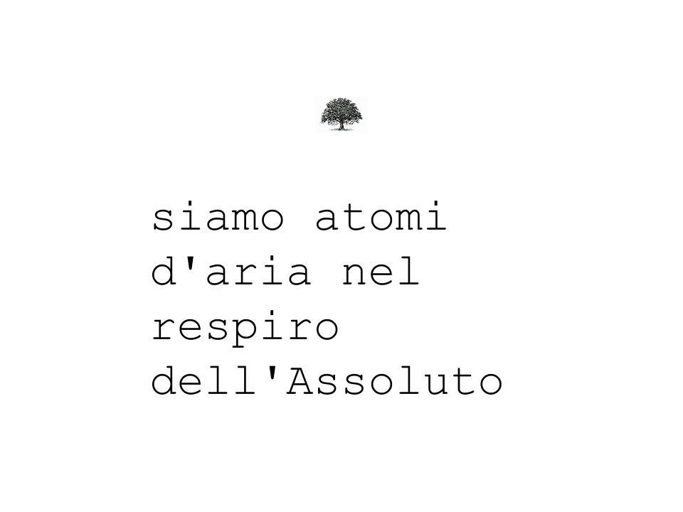 atomi dell'assoluto